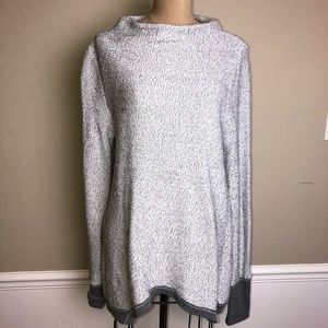 Anthropologie French terry loose sweatshirt